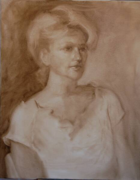 Underpainting by Jackson